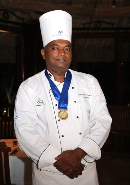 mauritius chefs association president